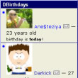 Модуль DBirthdays module