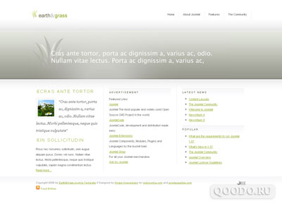 MP Earth and Grass - Шаблон для Joomla 1.5