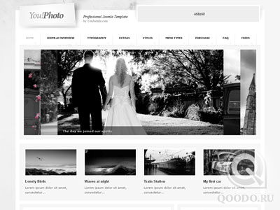 YJ You Photo - Photographer Portfolio - Шаблон для Joomla 1.5