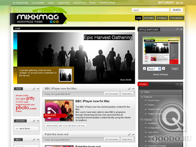 RT Mixxmag v1.2 - Шаблон для WordPress