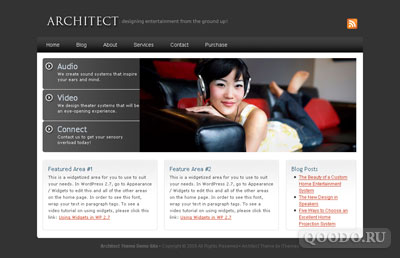 iT Architect - Шаблон для WordPress