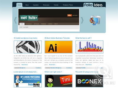 ThemeForest Folio!dea