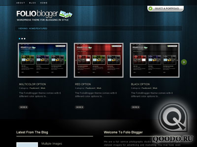 ThemeForest Folioblogger