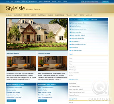 Premium Theme Styleisle - Шаблон для WordPress