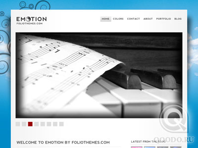 ThemeForest eMotion - Шаблон для WordPress