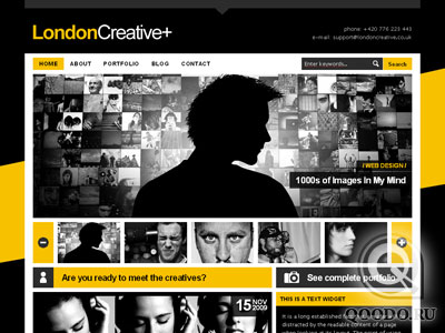 ThemeForest London Creative